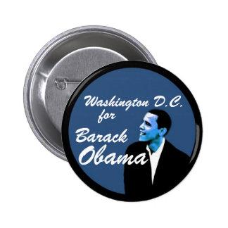 C.C. de Washington para Barack Obama Pin