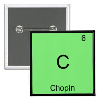 C - Camiseta divertida del símbolo del elemento de Pin