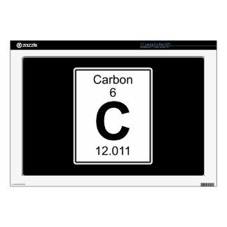 "C - Carbon 17"" Laptop Skins"