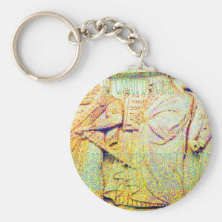 (c) Carrie Devorah  MAY BE USED ONLY UNDER LICENSE Basic Round Button Keychain