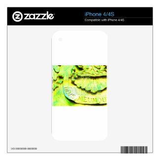 (c) Carrie Devorah MAY BE USED UNDER LICENSE (cc). Skin For iPhone 4