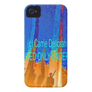 (c) Carrie Devorah MAY BE USED UNDER LICENSE (hh). iPhone 4 Case-Mate Case