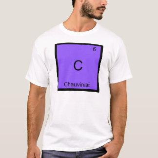 C - Chauvinist Funny Chemistry Element Symbol Tee