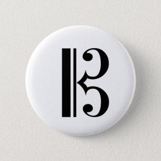C-Clef Button