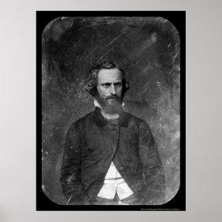 C. clemente Clay Daguerreotype 1844 Póster