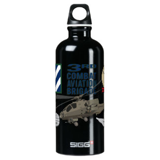 "C Co 1-3 ATK ""Outcasts"" Aluminum Water Bottle"