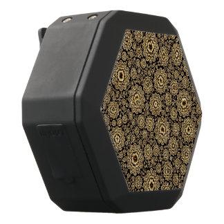 (c) de oro floral trippy altavoz con bluetooth