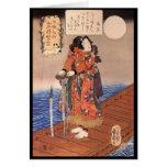 C. de pintura japonesa 1800's felicitación
