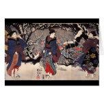 C. de pintura japonesa 1800's felicitacion