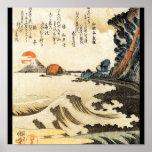 C. de pintura japonesa 1800's impresiones