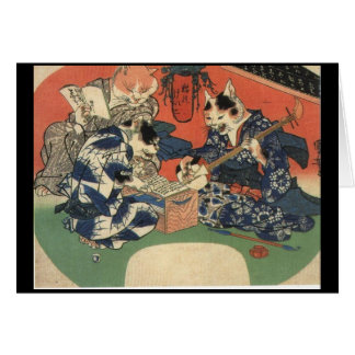 C. de pintura japonesa 1800's