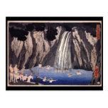 C. de pintura japonesa 1800's tarjeta postal