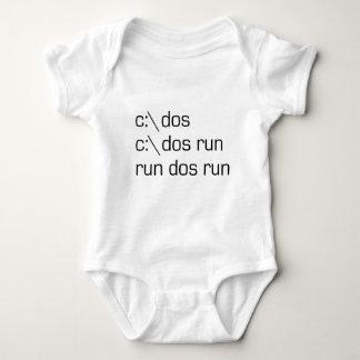 c:\ dos baby bodysuit