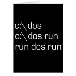 c:\ dos card