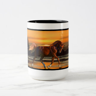 C.E. Arabian Horse Mug 1 of 4