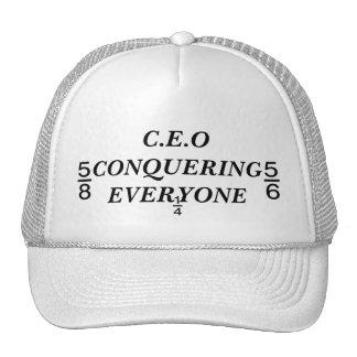 C.E.O CONQUERING EVERYONE TRUCKER HAT