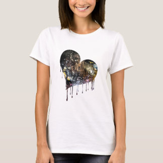 C.E. Paint Spatters Heart T-shirt