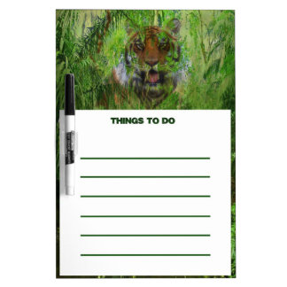 C.E. Tiger-Jungle Dry Erase Board