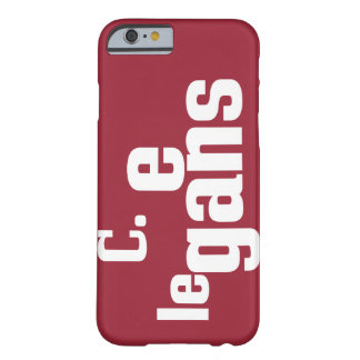 C_ele3 Barely There iPhone 6 Case