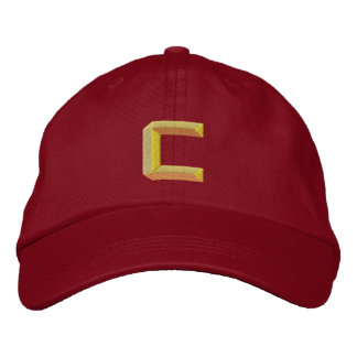 C EMBROIDERED BASEBALL CAP