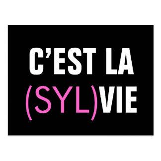 C'est la (Syl)Vie - C'est la Vie Postcard