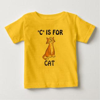 """C"" ESTÁ PARA CAT ZOOABLES DEL WHISPERER CAMISETAS"