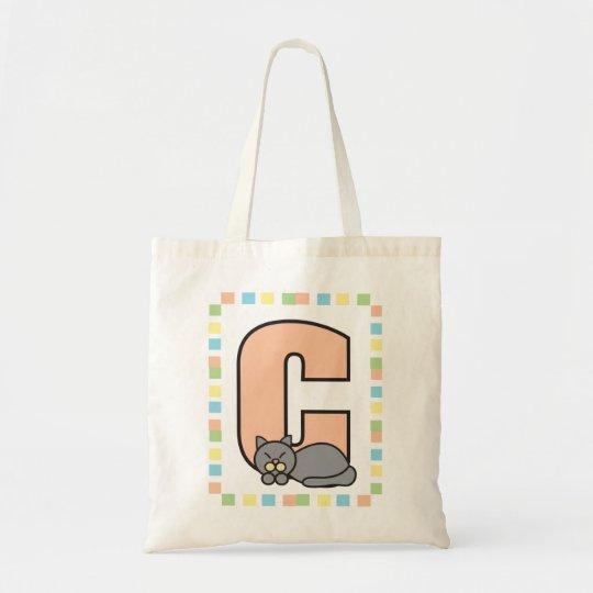 C está para el bolso del gato