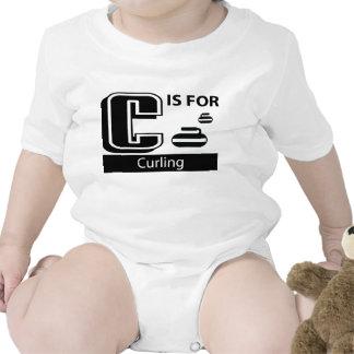 C está para encresparse traje de bebé