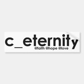c_eternity pegatina para auto