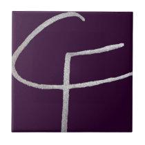 C & F initial Tile