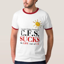 C.F.S. SUCKS T-shirt