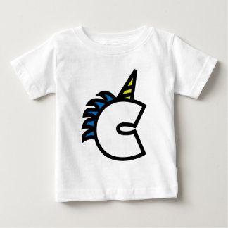 C for Charlie Baby T-Shirt