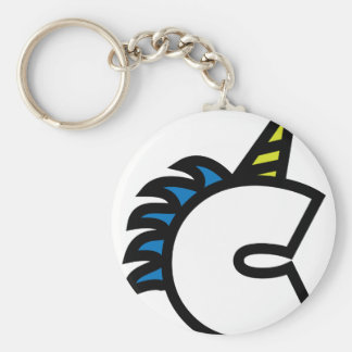 C for Charlie Keychain