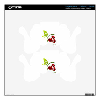 C for cherry PS3 controller skins