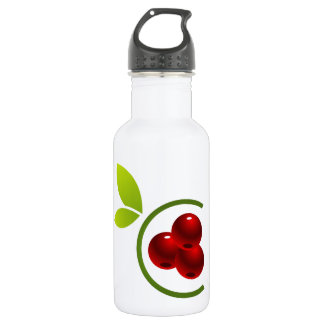 C for cherry stainless steel water bottle