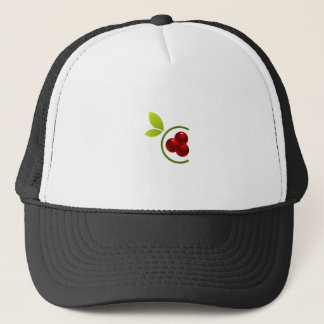 C for cherry trucker hat