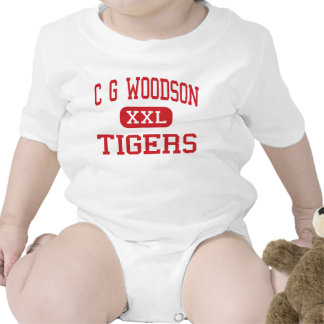 C G Woodson - Tigers - Middle - New Orleans Baby Bodysuits