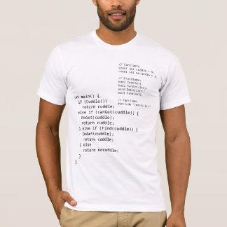 C++ geeky complete cuddle program shirt