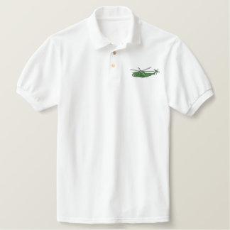 C H 53 Sea Stallion Embroidered Polo Shirt