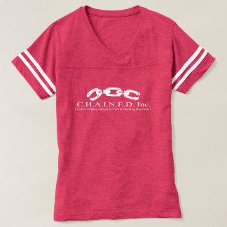 C.H.A.I.N.E.D. Inc. Camiseta de fútbol del Playeras