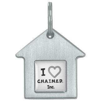 C.H.A.I.N.E.D. Inc. Dog House Dog Tag