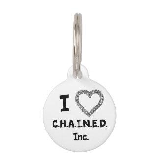 C.H.A.I.N.E.D. Inc. Dog Tag