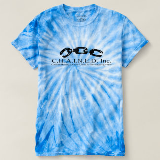 C.H.A.I.N.E.D. Inc. Logo Men's Tie Dye T-shirt