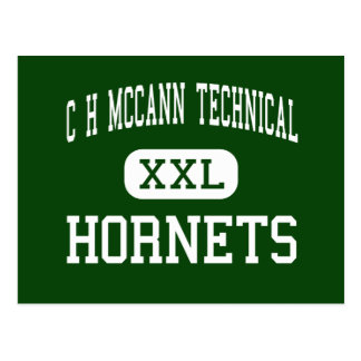 C H McCann Technical - Hornets - North Adams Postcard