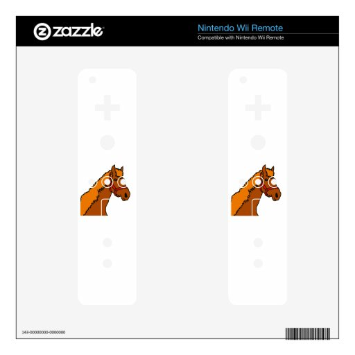 C Horsehead.jpg Wii Remote Decal