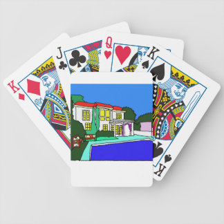 C House.jpg Bicycle Playing Cards