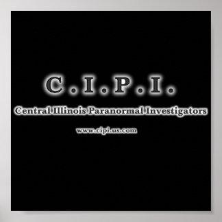 C.I.P.I. Logo Poster