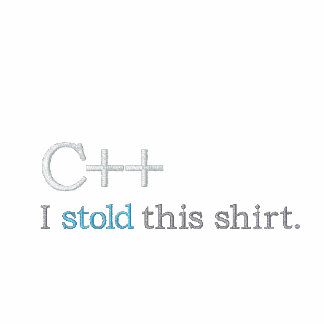 C++: I stold this shirt Polo Shirt