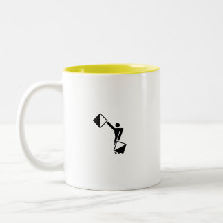 C, I'm A Creative! Two-Tone Coffee Mug