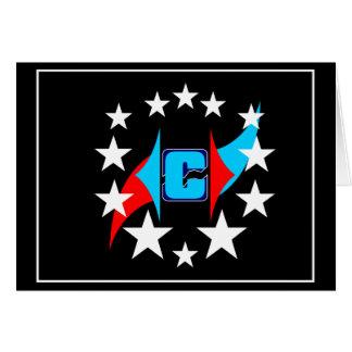 C In Stars 2016 Greeting Card